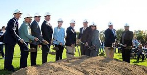 New Franklin high school project celebrates symbolic start
