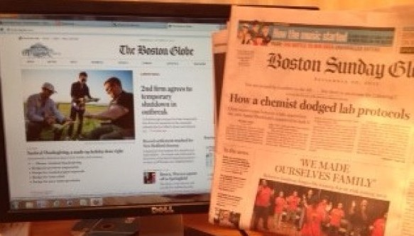 Death and Digitilization: The Future of America's Newspapers