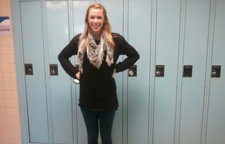 Kaitlin Copponi rocking her own personal style