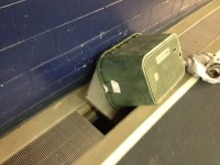 A vent is left open after two students mysteriously appeared out of the vents.