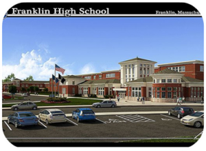 What Franklin High is set to look like when it is finished in 2014.