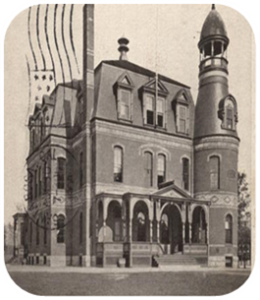 Horace Mann High School in the 1890's.