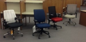 Some of the potential new teacher chairs