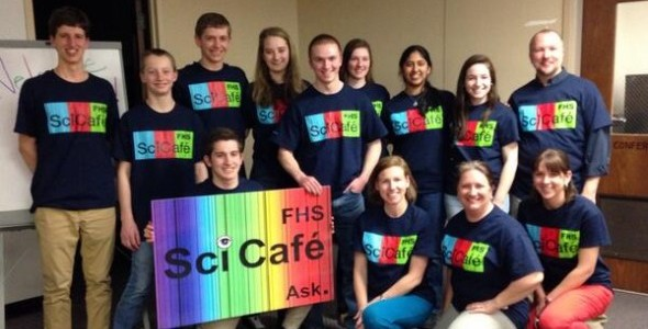 Sci-Cafe Members! Photo Credits to Ms. Butler
