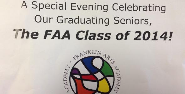 Franklin Arts Academy Celebrates Seniors
