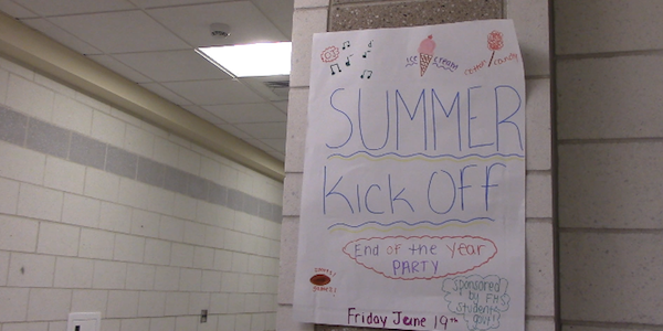 Students Kick Off Summer Today
