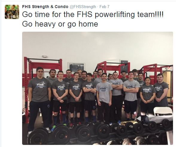 Power Lifting Team Primed For States