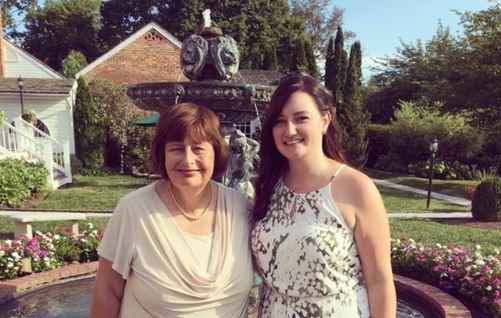 Miss Hebner & her mother