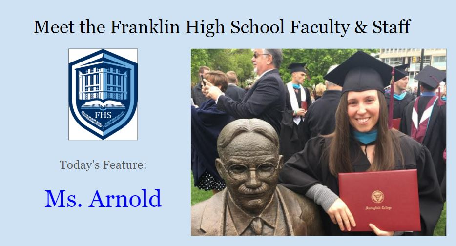 Five Questions with Ms. Arnold