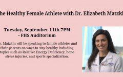 Female Sports Medicine Doctor Speaking at Franklin High School on 9/11