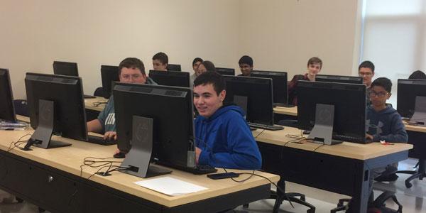 Computer Club in progress