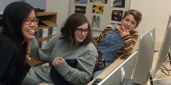 Creative Club Students Hard at Work