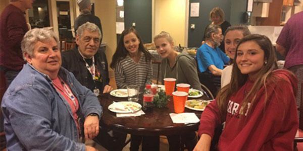 C4C members at the Hope Lodge last year.