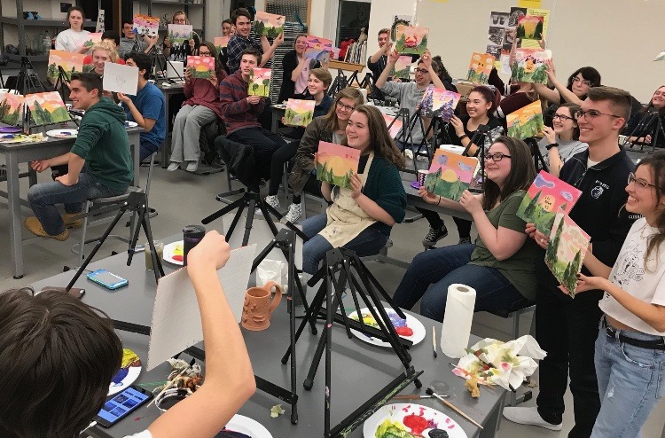 FHS Does Paint Night