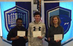National Merit Scholars Certificate Goes To…