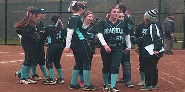 Freshmen Girl's Softball Game