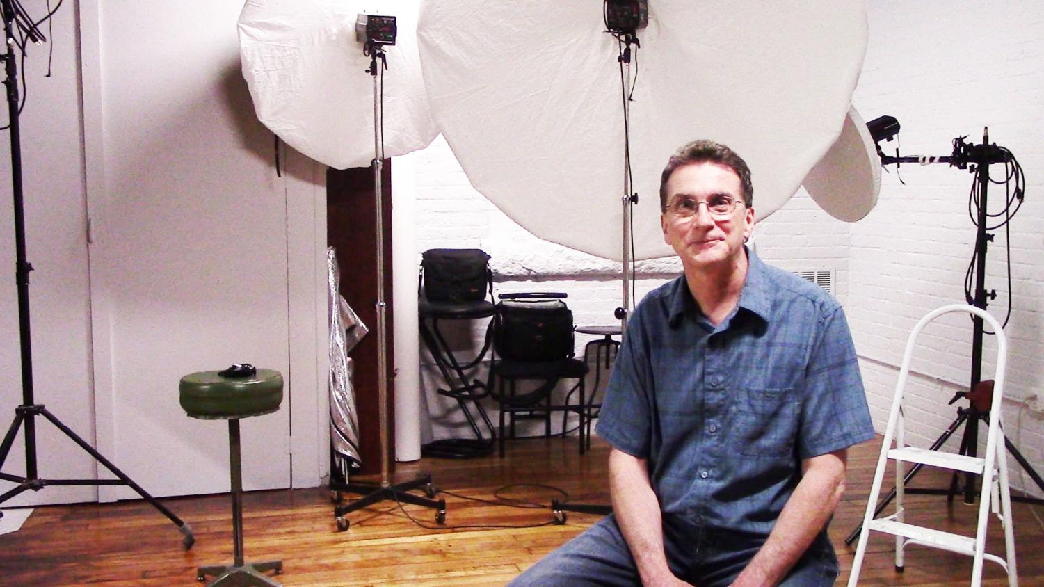 Franklin-based photographer Paul Vicario sits down in his studio for an interview.