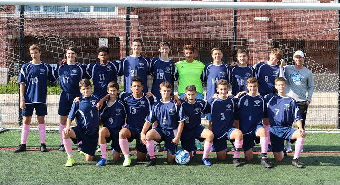 Kaleth and his soccer teammates