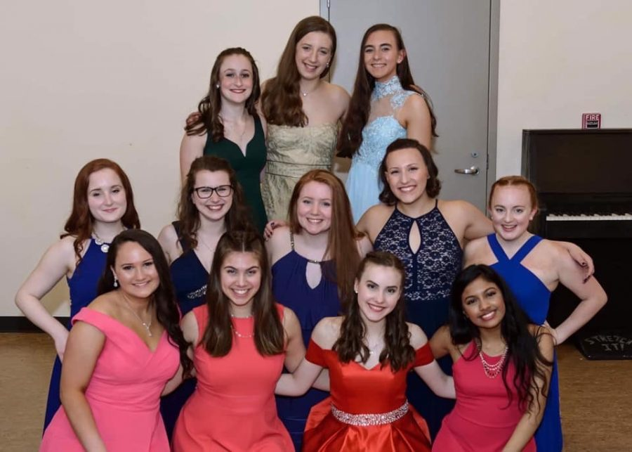 Class of 2020 DYW participants pose before their final showcase in May.