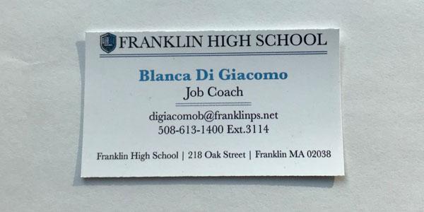 Meet the Franklin Job Coach
