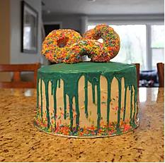 Gretchen's Donut Cake