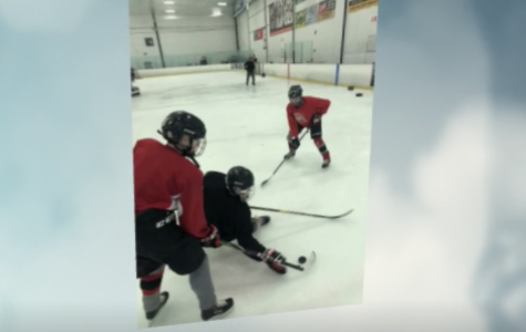Documenting Boy's Hockey Practice
