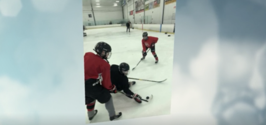 Documenting Boy's Hockey Practice