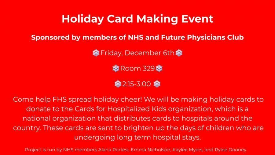 The Season of Giving: Holiday Card Creation