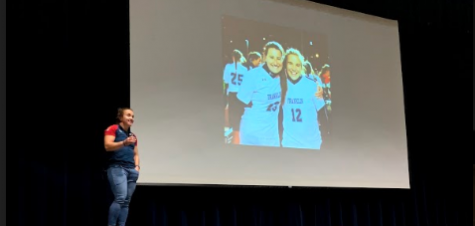 Kristi Kirshe returns to FHS to share her athletic journey