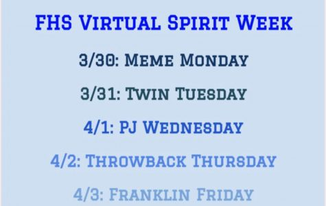 Are You Ready For Franklin's Virtual Spirit Week?