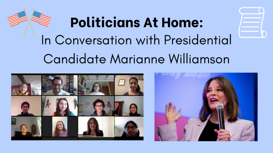 Politicians At Home: In Conversation with Marianne Williamson