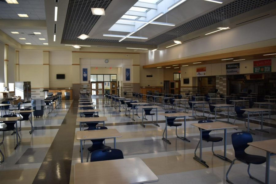 This is what the cafeteria will look like.