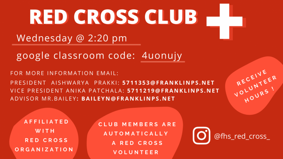 Meet FHS's Newest Club: Red Cross Club