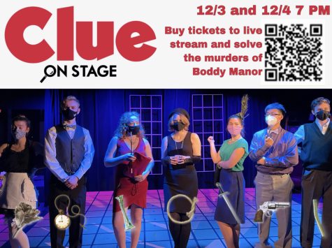 "Via Pantherbook: FHS to live stream ""Clue"" Dec 3 and Dec 4"