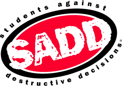 The logo of Students Against Destructive Decisions