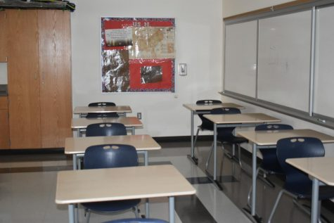 These rows of desks will soon be full of students!
