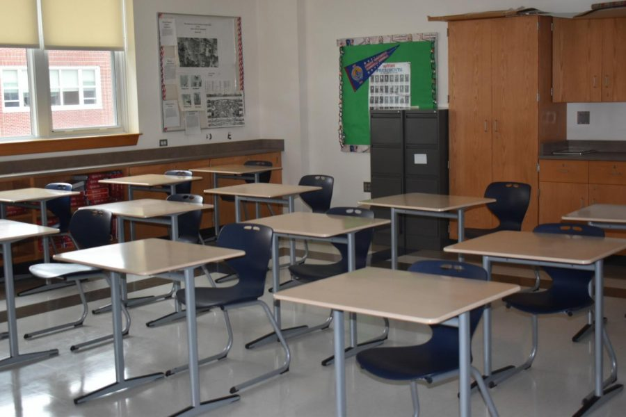 FHS switches to 'in person' learning Apr 12