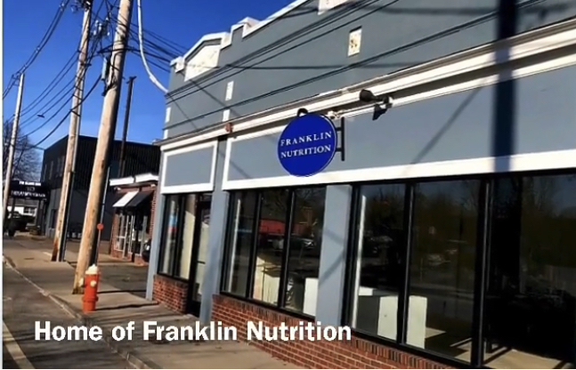 Located in downtown, Franklin at 5 west street. Photo used with permission from Josh Zicherman