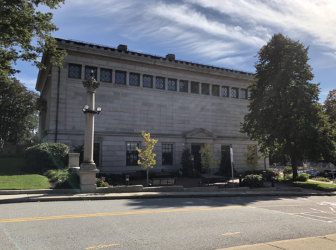 Visit the Franklin Public Library and learn more about the many historical aspects of the building.