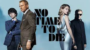 No Time to Die movie poster. (ScreenRant)
